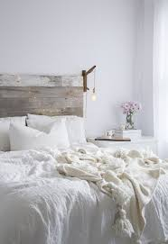 White Wooden Headboard Modern White Wood Headboards For Size Beds