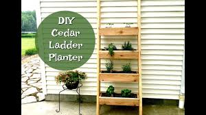 diy ladder planter vertical herb garden planter planter boxes