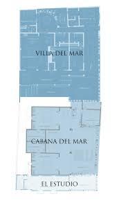 pool cabana floor plans cabaña del mar 3 bedroom luxury villa