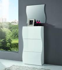 White Shoe Storage Cabinet Onda White Gloss Shoe Cabinet Shoe Storage Contemporary Furniture