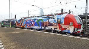 Basel Bad Bf Colourful Vectrons And Ex öbb 1042 Locomotive Basel Bad Bf Youtube