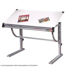 Schreibtisch 110 Cm Schreibtisch Speedy Mit Stiftablage Und Lineal Lampen U0026 Möbel