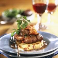 cuisiner rognons de veau rognons de veau à la moutarde violette et galettes de pommes de