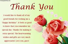 Happy Birthday Thank You Quotes New Thank You Quotes For Birthday Model Best Birthday Quotes