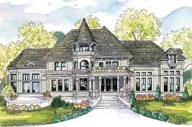 victorian house plan canterbury 30 516 front elevation