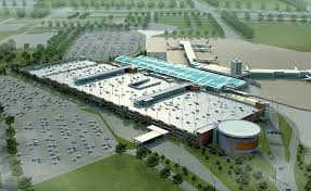 r arer canap gerald r ford international airport terminal area and parking