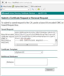 replacing vcenter 6 0 u0027s ssl certificate