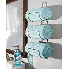 Bathroom Towel Shelves Wall Mounted Amazing Mdesign Wall Mount Or Door Bathroom Towel