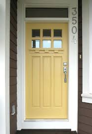 cream house black front door paint contemporary composite side