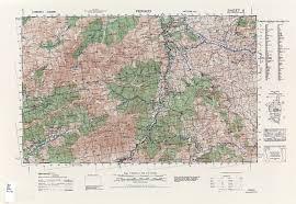Corsica Map Corsica Ams Topographic Maps Perry Castañeda Map Collection Ut