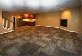 The L Shaped House CarpetingThe Basement Family Room - Family room carpet