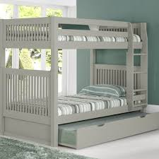 Bunk Bed With Trundle Camaflexi Bunk Bed With Trundle Reviews Wayfair