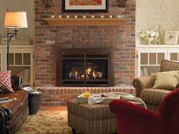 a living room idea with modern look fireplace light brown shelf
