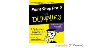 paint shop pro 9 for dummies 9780764579356 computer science