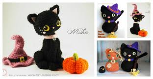 amigurumi witch pattern amigurumi halloween black cat free crochet pattern
