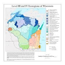 Map Of Northern Wisconsin by List Of Ecoregions In Wisconsin Wikipedia