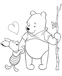 winnie pooh colouring books 20 print color free