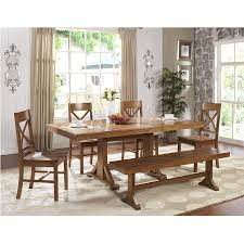 Solid Oak Dining Room Sets amazon com we furniture 77