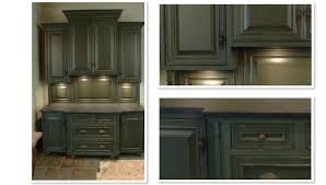 rustic green kitchen cabinets interior design