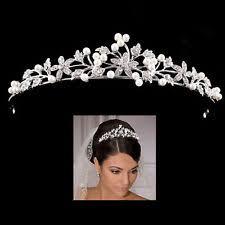 bridal tiaras crown wedding tiaras and headbands ebay