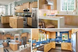 what color countertops go with wood cabinets 7 kitchen backsplash ideas with maple cabinets that do it right