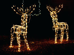 deer decorations ghted outdoor uk biophilessurf info