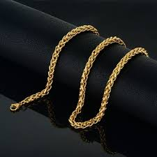 rope chain necklace men images Hiphop gold chains for men vintage jewelry wholesale long 6mm gold jpg