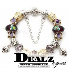 murano beads bracelet images High quality silver 925 charms bracelets european crystal glass jpg