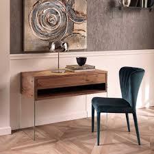 Schreibtisch Design Design Schreibtisch Washington Nussbaum Furnier Pharao24 De