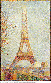 the eiffel tower by georges seurat facts u0026 history of the painting
