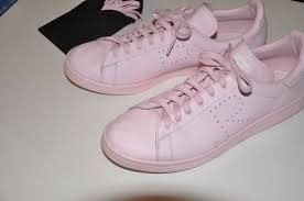 stan smith light pink raf simons light pink stan smith size 11 low top sneakers for sale
