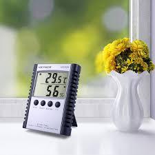 Cuu Cuu Clock Keynice Weather Thermometers Indoor Humidity Thermometer Wall