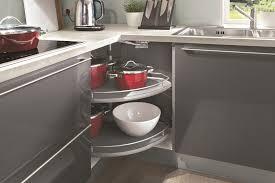 plateau tournant meuble cuisine meuble d angle de cuisine avec plateau tournant cuisine idées de