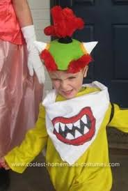 Halloween Costumes 4 Boy Lifelike Bowser Costume 5 Boy Bowser Costume