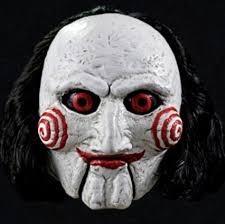 Super Scary Halloween Masks Saw Billy Puppet Realistic Masks Halloween Horror Scary Masks