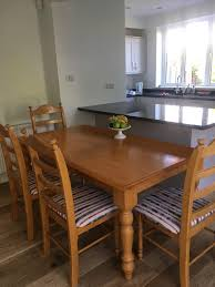 Solid Oak Extending Dining Table And 6 Chairs Solid Oak Dining Table With 6 Chairs Edinburgh Natural Solid Oak