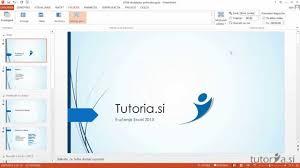 med si e tutoria si e učenje ms powerpoint 2013 dodajanje prehodov med