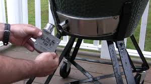 big green egg fan how to set up and operate the digiq dx2 by bbq guru on your big