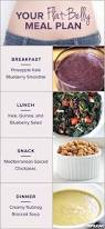 a stomach shrinking meal plan fit for summer flat belly meals