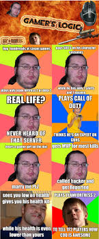 Angry Gamer Kid Meme - gamers logic by malik chuck norris meme center