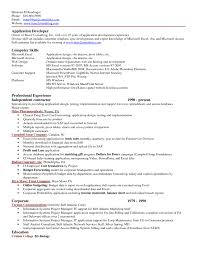 exle resume formats sle resume microsoft excel experience copy resume puter skills