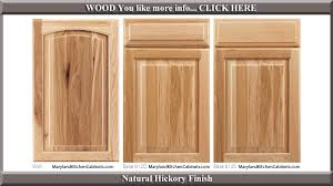 Hickory Cabinet Doors 613 Hickory Cabinet Door Styles And Finishes Maryland