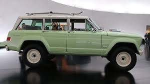 new jeep wagoneer concept jeep wagoneer roadtrip is old cool with new parts