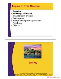javascript tutorial pdf pdf javascript a crash course free tutorial for beginners