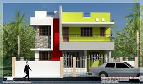 house front design exterior elevation of stair case parapet wall