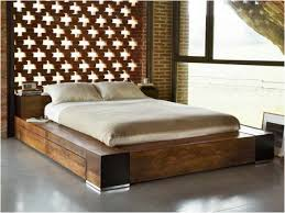 headboards magnificent full size storage bed with bookcase