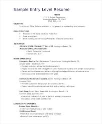 Great Sales Resume Sample Entry Level Sales Resume Best Resume Objective Examples