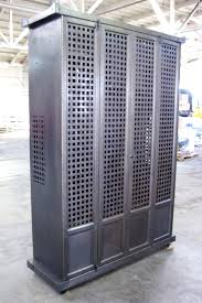 Metal Media Cabinet Metal Cabinet U2014 Blank And Cables