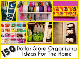 dollar store organizing ideas for the home