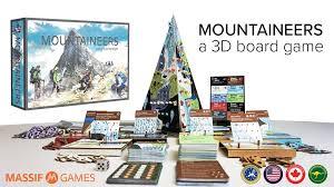 mountaineers a 3d board game by corey wright u2014 kickstarter